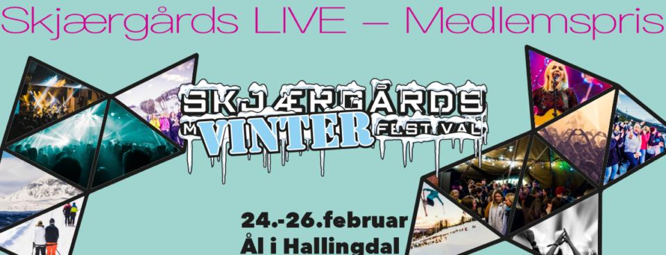 Skjærgårds Vinter til Sg LIVE-medlemspris!