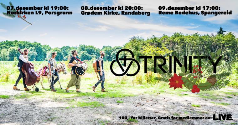 Juleturné med Trinity (NL)