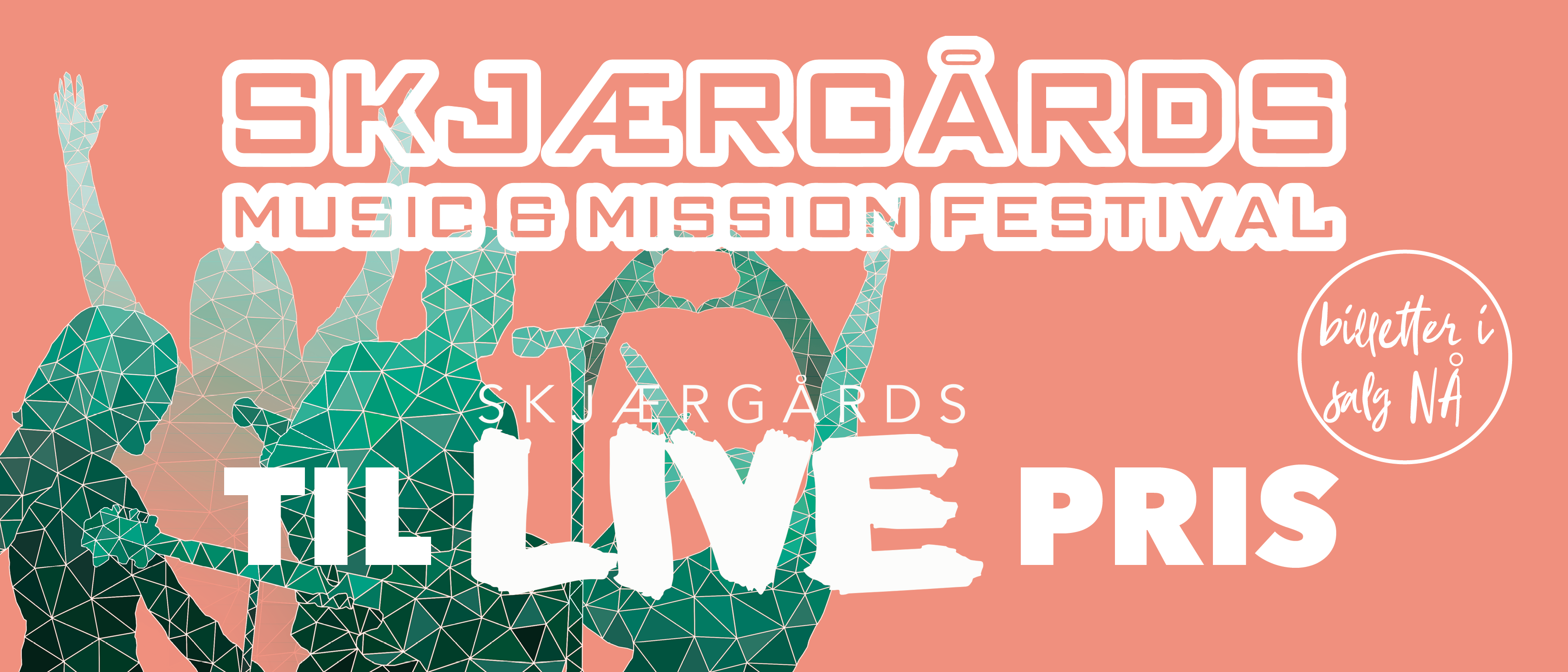Billetter til Skjærgårds Music & Mission 2020 til medlemspris