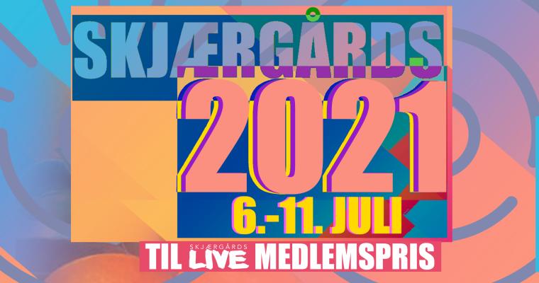 Billetter til Skjærgårds Music & Mission 2021 til medlemspris